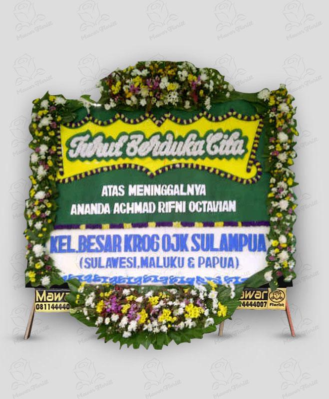 Karangan Bunga Duka Cita Murah Makassar