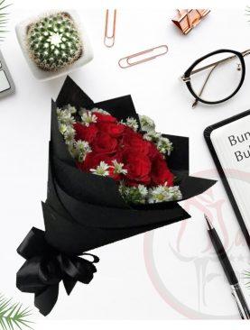 Bunga Buket Hitam
