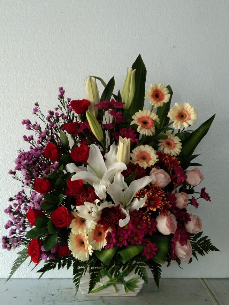 Jual bunga meja berkualitas di makassar
